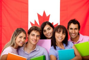 students in Canada