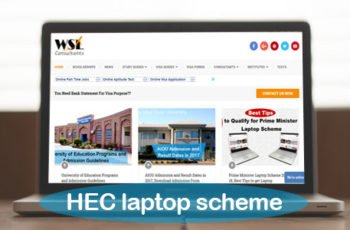 HEC laptop scheme